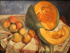 Paula Modersohn-Becker - Nature morte au potiron, 1905
