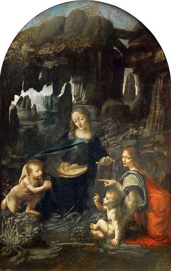 La Vierge aux Rochers - Musée du Louvre